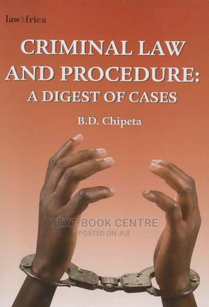 Criminal Law And Procedure: Digest Of Cases   Books & Games for sale in Nairobi, Nairobi Central