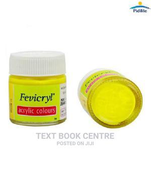 Fevicryl Acrylic Colour 15ml 11 Lemon Yellow   Arts & Crafts for sale in Nairobi, Nairobi Central