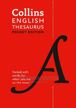 Collins English Thesaurus Pocket Edition | Books & Games for sale in Nairobi, Nairobi Central