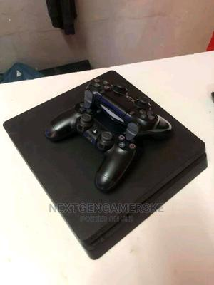 Slim Sony Ps4 With 2 Controllers Package   Video Game Consoles for sale in Nairobi, Nairobi Central