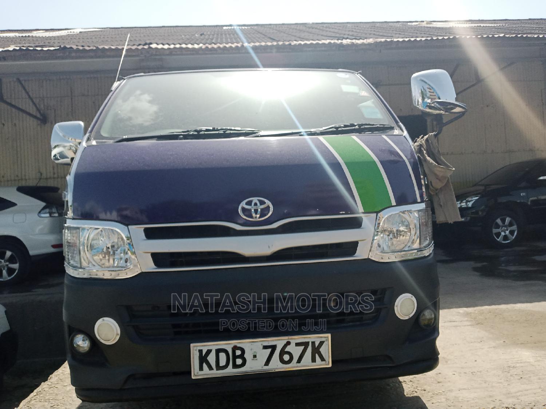 Toyota Hiace Automatic Diesel