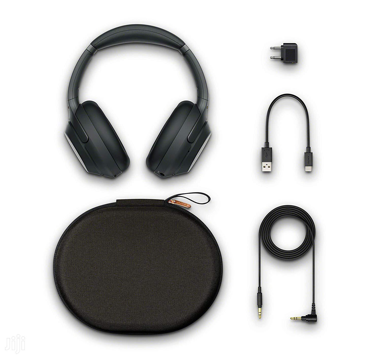 Archive: Sony WH-1000XM3 Wireless Noise-canceling Over-ear Headphones (Black)