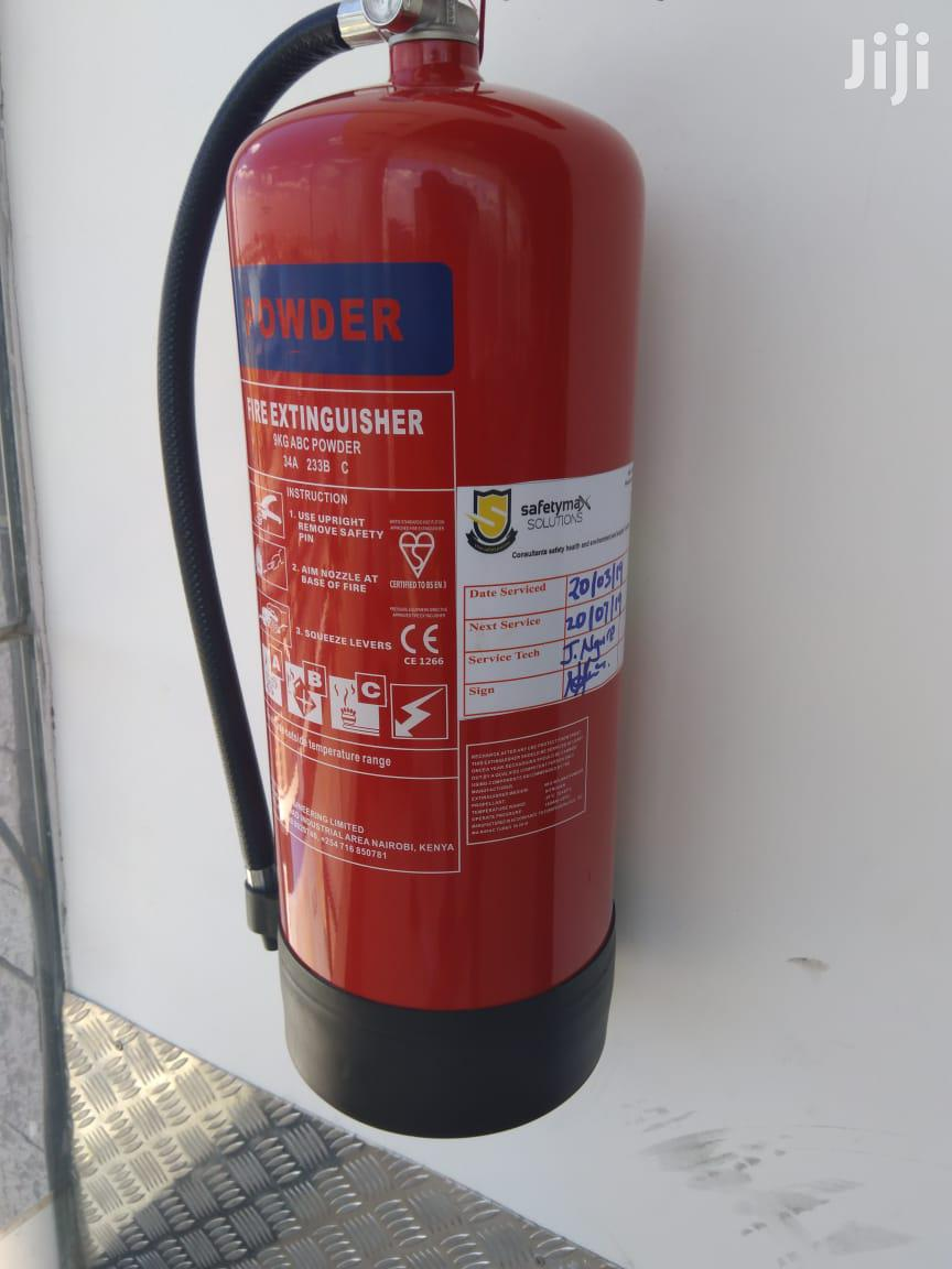 Archive: 2kg Dry Powder Fire Extinguisher
