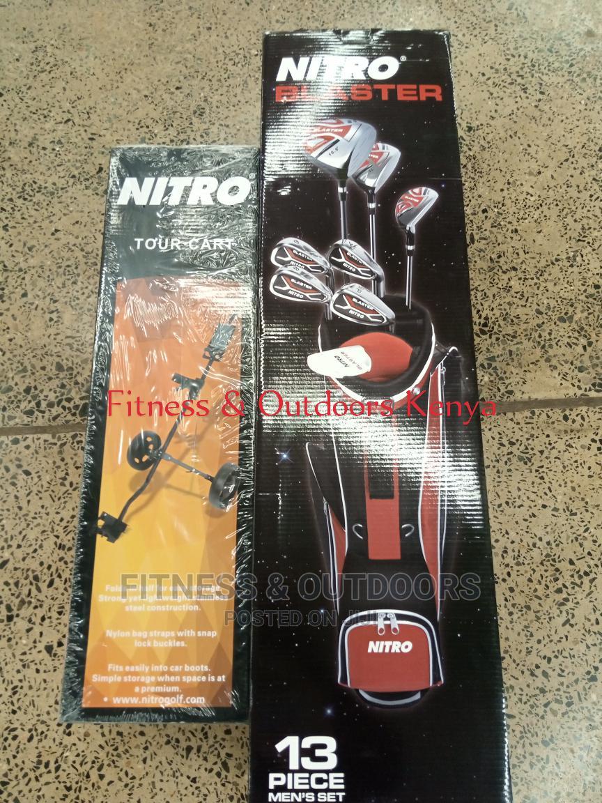 Nitro Blaster Golf Kit + Trolley