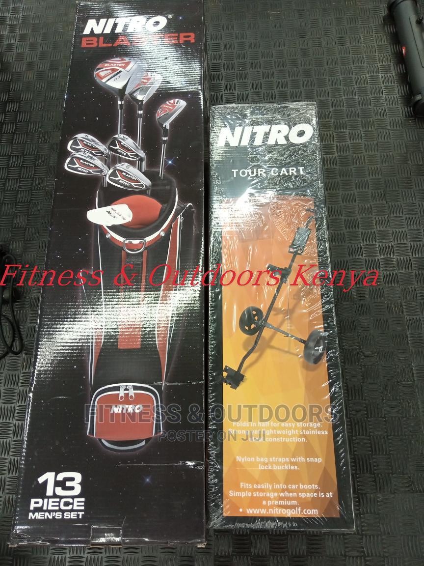 Golf Set (Nitro Blaster) + Trolley