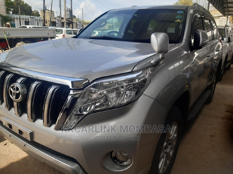 Toyota Land Cruiser Prado 2013 Silver | Cars for sale in Mbaraki, Mombasa, Kenya