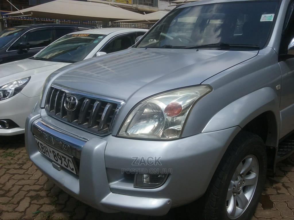 Toyota Land Cruiser Prado 2003 Silver