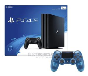 Playstation 4 Pro 1TB Console With Extra Crystal Blue PAD | Video Game Consoles for sale in Nairobi, Nairobi Central