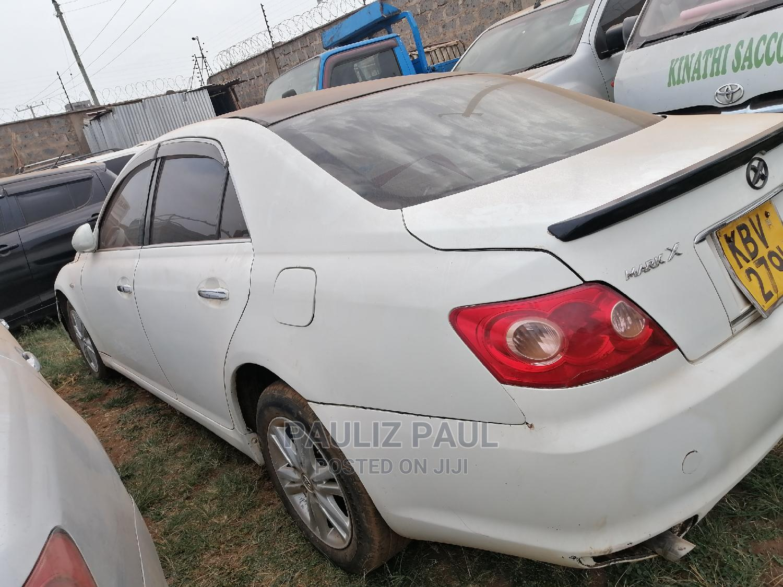 Archive: Toyota Mark X 2006 White