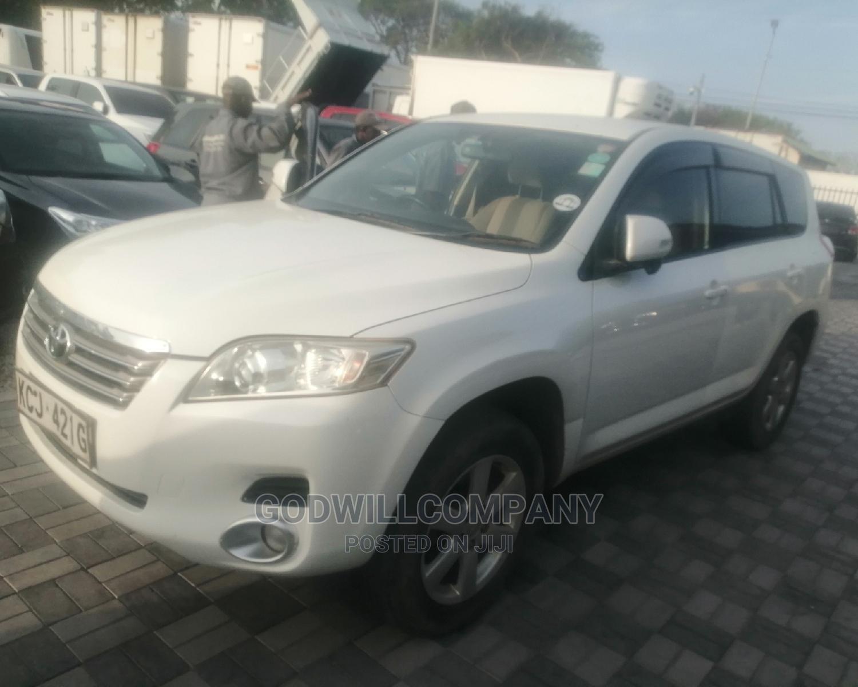 Toyota Vanguard 2010 White   Cars for sale in Mombasa CBD, Mombasa, Kenya