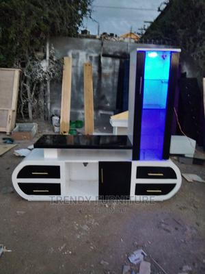 Modern TV Stand With Lights Shelving Units | Furniture for sale in Nairobi, Kahawa