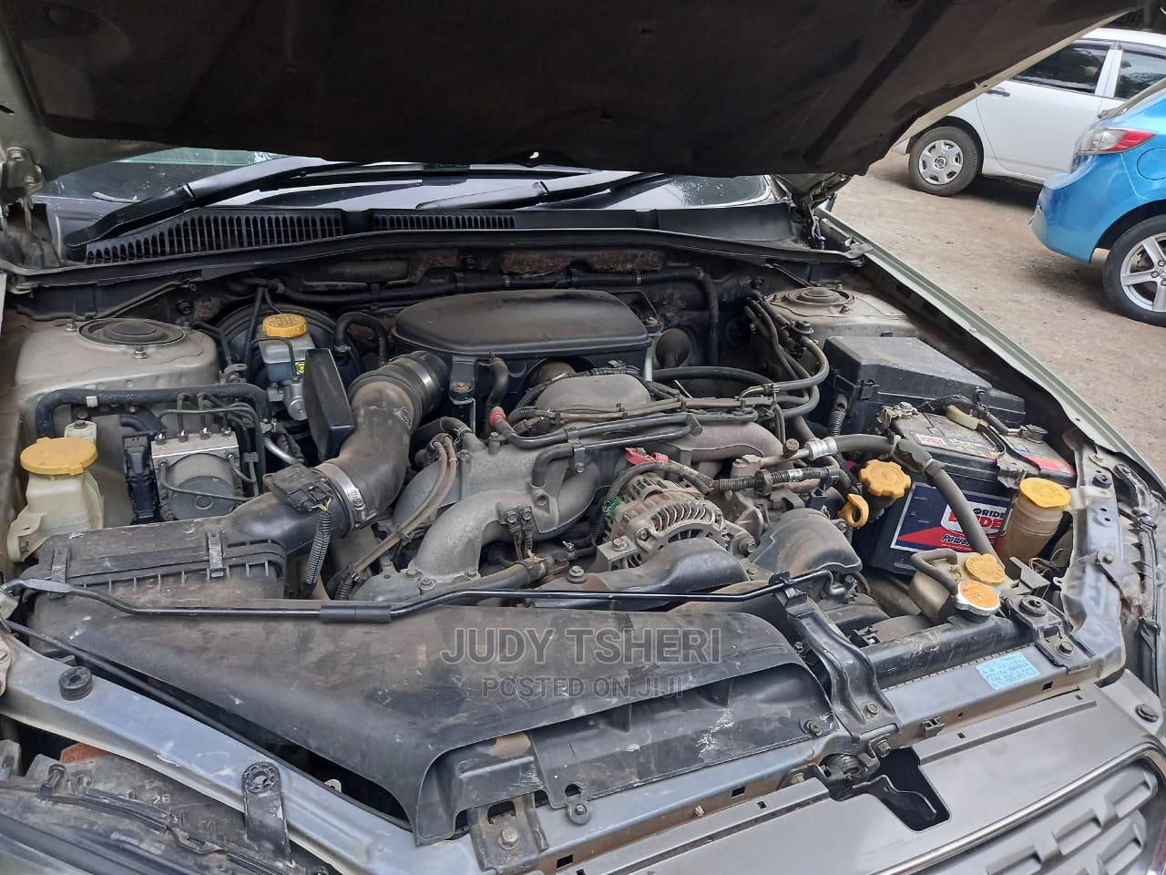 Archive: Subaru Outback 2004 Gold