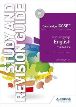 Cambridge IGCSE First Language English Study And Revision Guide 3rd Edition | Books & Games for sale in Nairobi, Nairobi Central