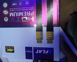 Flat Hdmi Cable 4k 2K 10 Meters | Computer Accessories  for sale in Nairobi, Nairobi Central