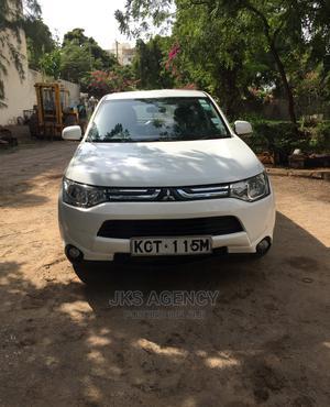 Mitsubishi Outlander 2014 White | Cars for sale in Mombasa, Nyali