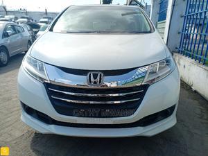 Honda Odyssey 2014 White   Cars for sale in Mombasa, Mombasa CBD