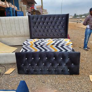 5 by 6 Modern Bed + Ottoman   Furniture for sale in Nairobi, Kahawa
