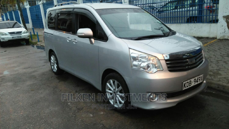 Toyota Noah 2013 Silver | Cars for sale in Ganjoni, Mombasa, Kenya