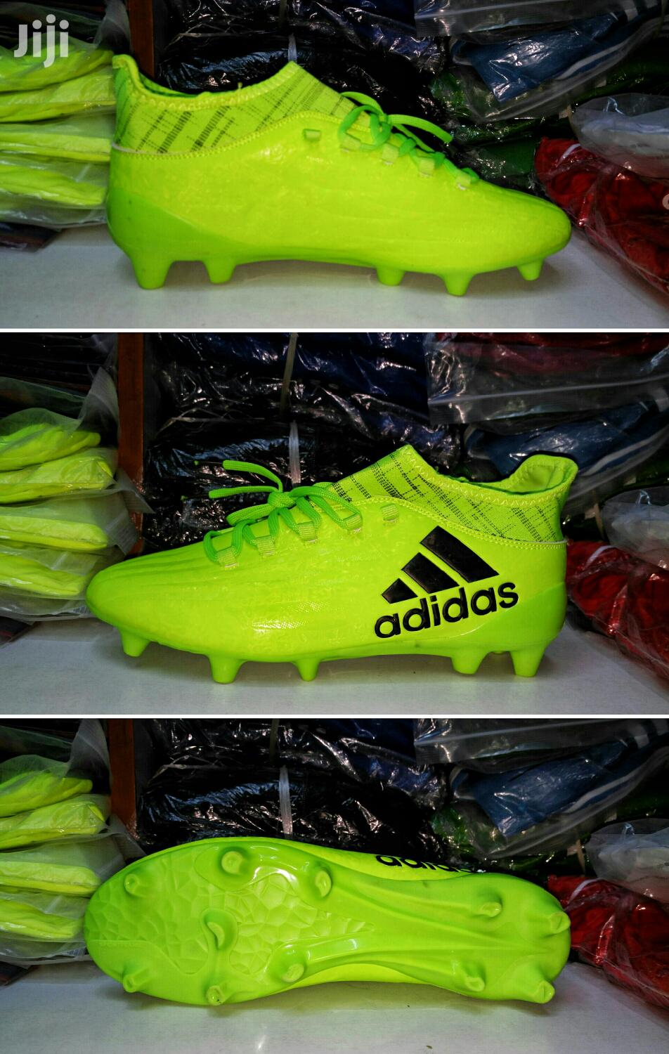 nike and adidas soccer boots