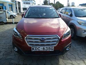 Subaru Outback 2015 Red   Cars for sale in Mombasa, Mombasa CBD