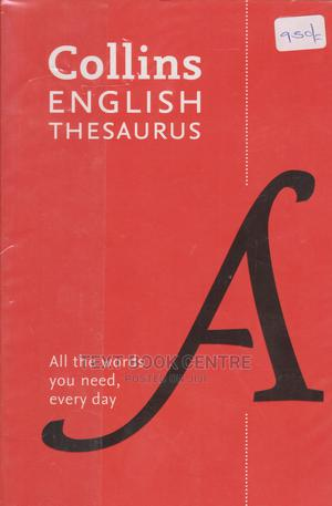 Collins English Thesaurus | Books & Games for sale in Nairobi, Nairobi Central