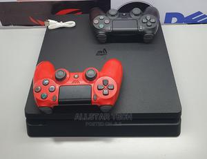Sony Ps4 Slim With Tow Controllers.   Video Game Consoles for sale in Nairobi, Nairobi Central