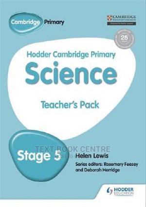 Hodder Cambridge Primary Science Teacher's Pack 5 | Books & Games for sale in Nairobi, Nairobi Central