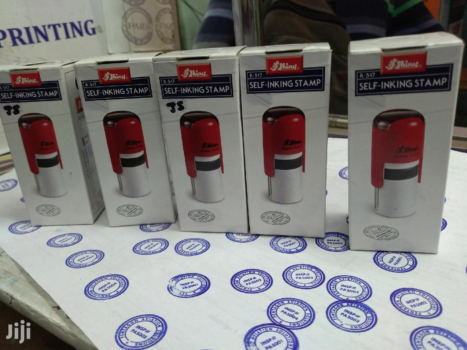Rubber Stamps And Company Seal   Stationery for sale in Nairobi Central, Nairobi, Kenya