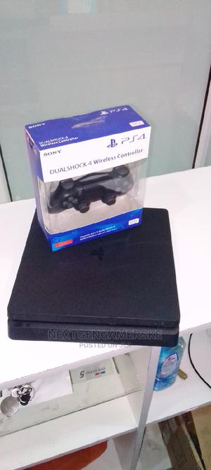Slim Sony Ps4 With a Brand New Controller and Fifa 21   Video Game Consoles for sale in Nairobi, Nairobi Central