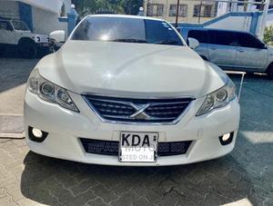 Toyota Mark X 2012 White | Cars for sale in Mombasa, Makadara (Msa)