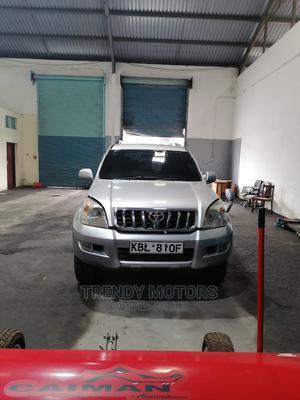 Toyota Land Cruiser Prado 2003 Silver | Cars for sale in Mombasa, Ganjoni