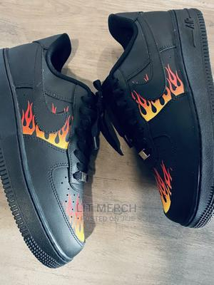 Nike Airforce One Black Thrasher Fashion Sneakers   Shoes for sale in Nairobi, Nairobi Central