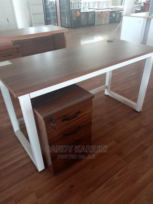 1.6m Office Desk With Movable Side Cabinets | Furniture for sale in Nairobi, Nairobi Central