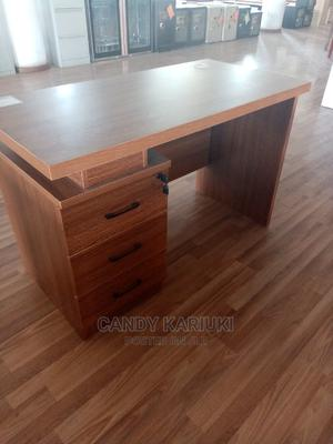 Brown 1.6m Office Desk With Side Cabinets | Furniture for sale in Nairobi, Nairobi Central