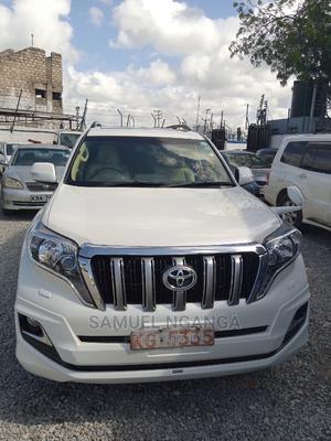 Toyota Land Cruiser Prado 2014 2.8 D-4d White   Cars for sale in Mombasa, Mombasa CBD