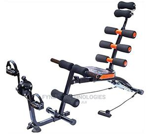 2 in 1 Six Pack Ab Care Exerciser With Inbuilt Pedal Cycle   Sports Equipment for sale in Nairobi, Nairobi Central