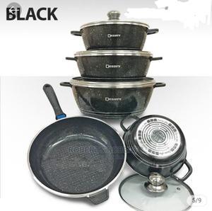 Black Dessini 10pcs Non-Stick Cookware Set | Kitchen & Dining for sale in Nairobi, Nairobi Central