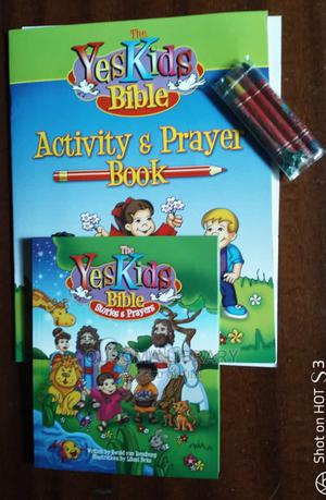 Yes Kids Bible- Activity Prayer Book Children's Bible | Books & Games for sale in Kajiado, Kitengela