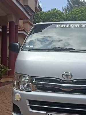 Toyota Hiace 2013 Silver For Sale | Buses & Microbuses for sale in Nairobi, Kahawa West