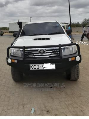 Toyota Hilux 2009 2.5 D-4d 4X4 SRX White | Cars for sale in Nairobi, Nairobi Central