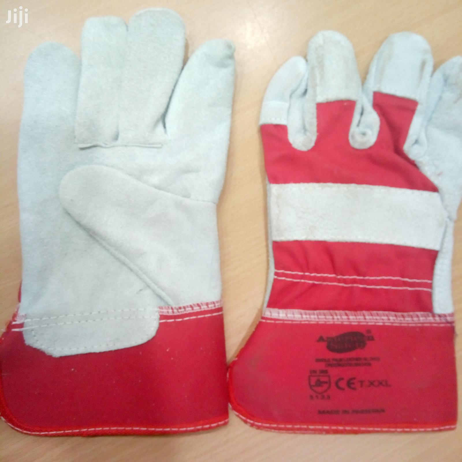 Archive: Safety Leather Gloves