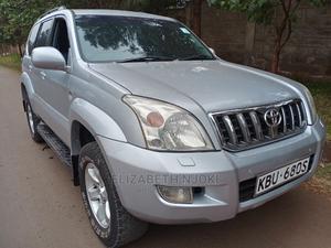 Toyota Land Cruiser Prado 2005 3.0 D-4d 5dr Silver   Cars for sale in Nairobi, Ridgeways