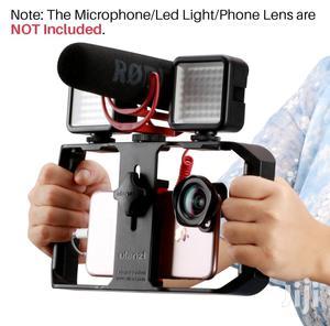 Smartphone Video Filmmaking Case, Stabilizer Grip Tripod Mount Rig