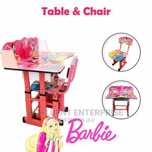 Kids Wooden White Table Desk and Chair Set for Study Home   Children's Furniture for sale in Nairobi, Nairobi Central