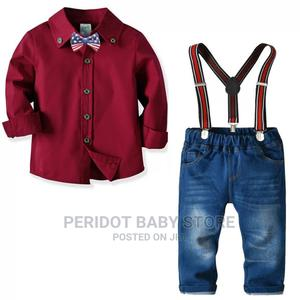 2 Piece Clothing Set for Boys Shirt Jeans 1-6yrs | Children's Clothing for sale in Kajiado, Ongata Rongai