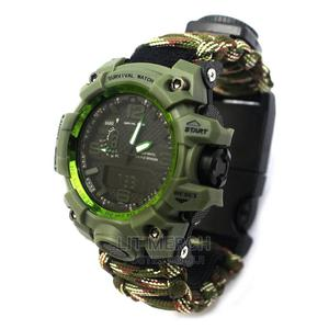 Tactical Millitary Survival Compass Watch | Watches for sale in Nairobi, Nairobi Central