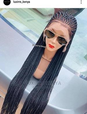 Human Hair Frontal Braided Wig | Hair Beauty for sale in Nairobi, Nairobi Central