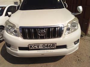 Toyota Land Cruiser Prado 2013 GX White   Cars for sale in Mombasa, Mombasa CBD