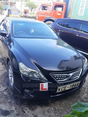Toyota Mark X 2009 Black | Cars for sale in Mombasa, Ganjoni