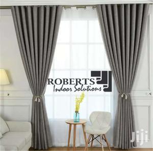 Grey Linen Curtain/Drape   Home Accessories for sale in Nairobi, Nairobi Central